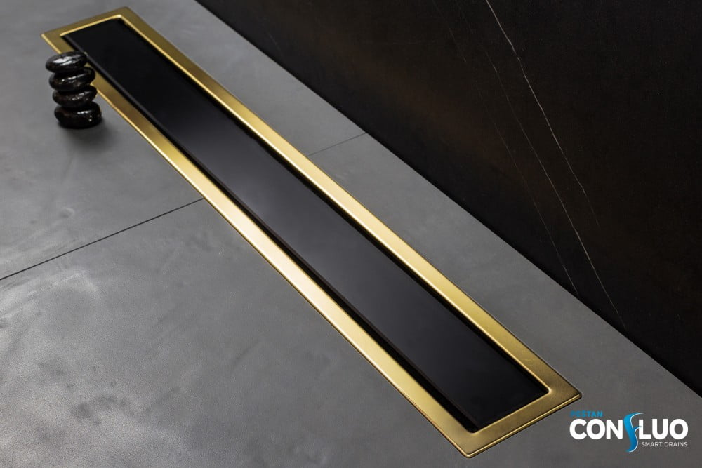 Confluo Premium Black Glass Line 750 Gold