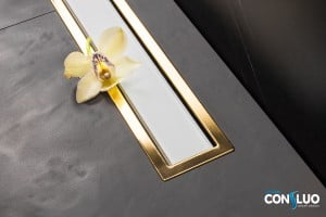 Confluo Premium White Glass Line 750 Gold